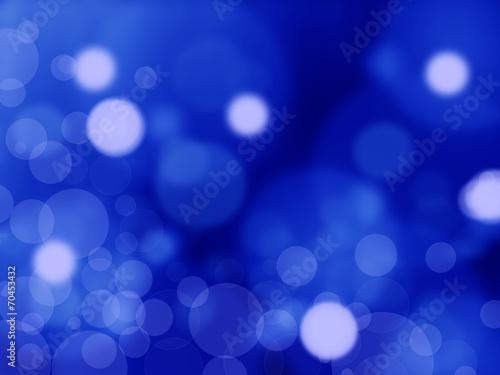 Fototapety, obrazy: Lights on blue background.