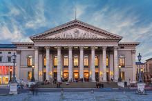 National Theatre Of Munich Bavaria Germany
