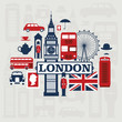London vector set