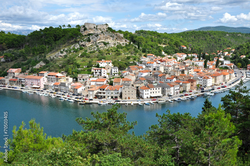 Fotografie, Obraz  Novigrad fisher village, Croatia