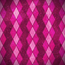 Pink Purple Rhombus Grunge Background