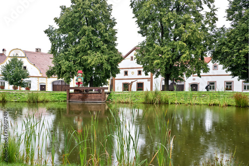 Photo  Village of Holasovice, Bohemia, Czech Republic