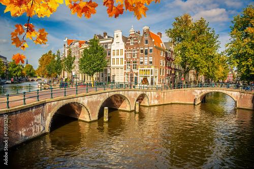 Ingelijste posters Amsterdam Amsterdam cityscape