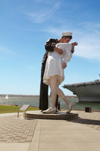The Unconditional Surrender Sculpture