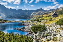 Mountain Lake In 5 Lakes Valle...