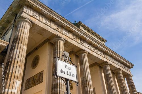 Fotografia  Brandenburger Tor in Berlin
