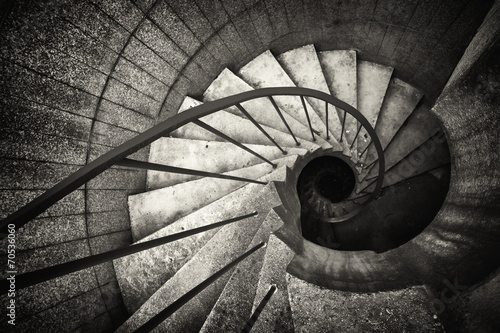 spiral staircase Wallpaper Mural