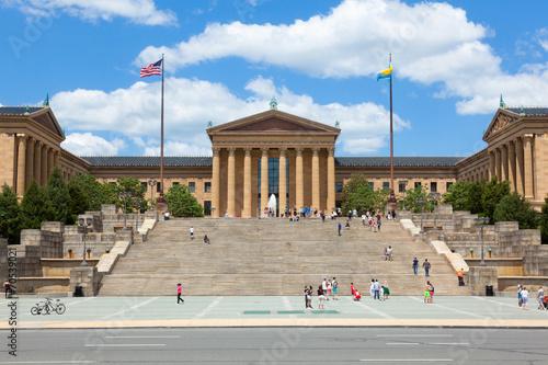 Valokuva  Philadelphia art museum entrance - Pennsylvania - USA