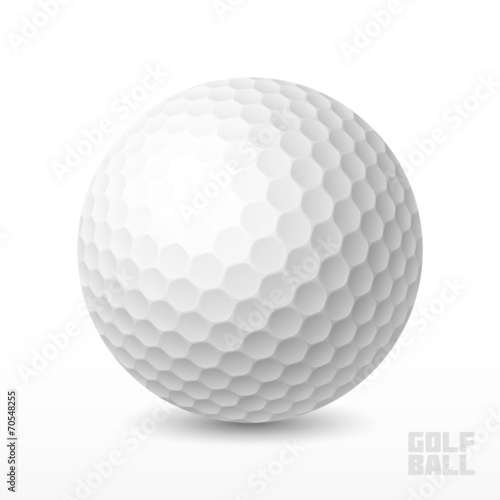 Fotografia, Obraz Golf ball