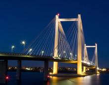 Pasco Bridge At Night