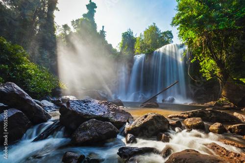 Tropical waterfall © Dmitry Rukhlenko