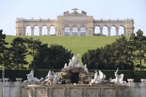 Wien - 021 - Schoenbrunn - Garten - Brunnen