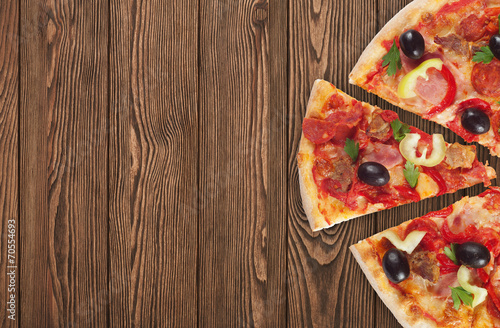 Photo  italian pizza