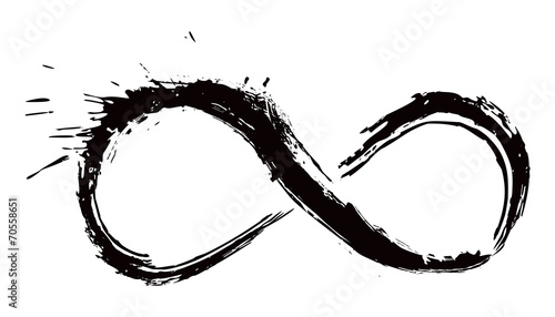 Fotografía  Gunge infinity symbol