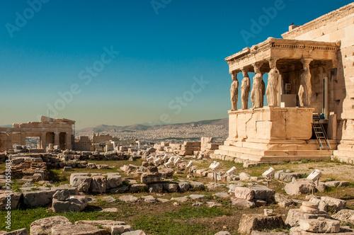 Deurstickers Athene Erechtheion