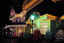 Lit Up For Christmas