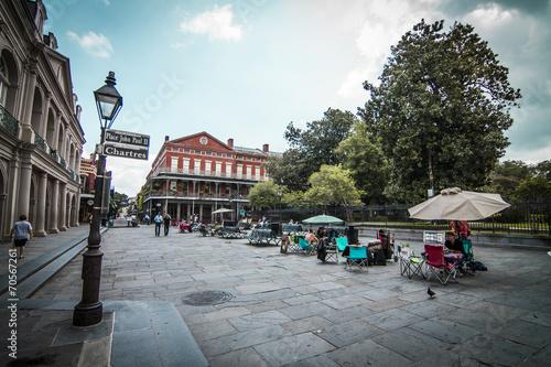 Photographie  Jackson Square La Nouvelle-Orléans