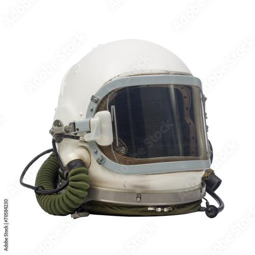 Vászonkép pilot military helmet