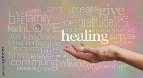 Photo  Beautiful Healing Words