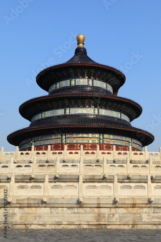 Foto op Aluminium Beijing Der Himmelspalast in Peking China
