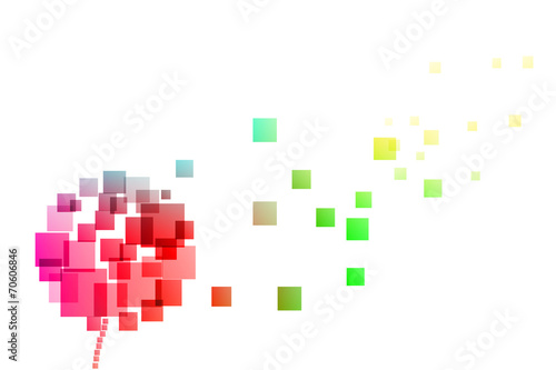 dmuchawiec wektor - 70606846