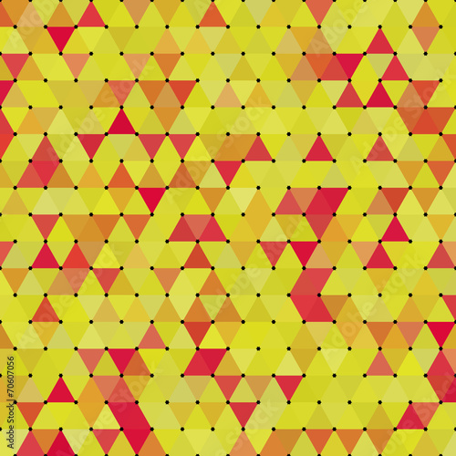 Foto op Aluminium ZigZag Abstract Geometrical Multicolored Background