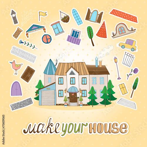 Fototapety, obrazy: Make Your House