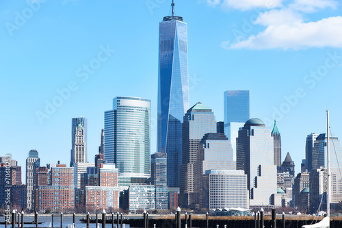 New York City Manhattan skyline Plakat