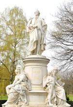 Goethe Monument In Berlin, Ger...