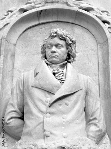 Türaufkleber Phantasie Beethoven