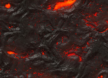 Solidified Hot Lava Texture Of...
