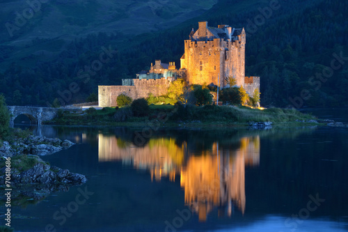 Castello Scozzese Fotobehang