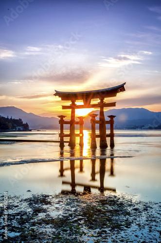 Torii Gate of Miyajima, Japan