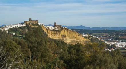 Fototapeta na wymiar Arcos de la Frontera, Andalucia, Spain