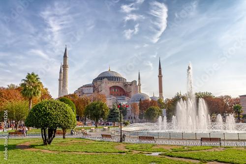 Carta da parati Hagia Sophia Istanbul