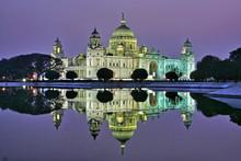 Victoria Memorial At Twilight,...