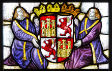 Stained Glass  Alcazar Of Sego...