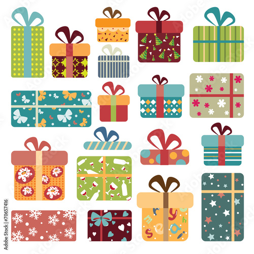 Colorful Gift Box Collection