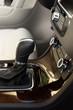 Closeup of automatic transmission