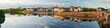 Panoramic view of the French town