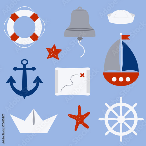 Photo nautical symbols