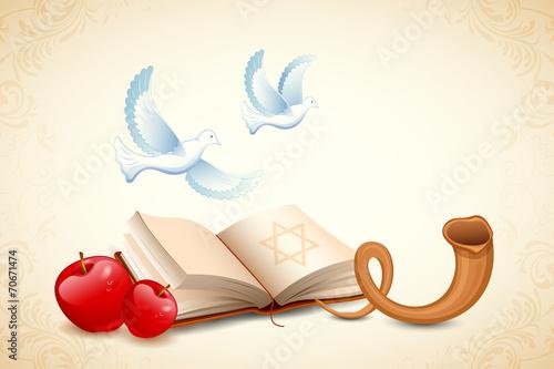 Cuadros en Lienzo Happy Yom Kippur