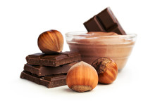 Nut Butter And Chocolate With Hazelnuts