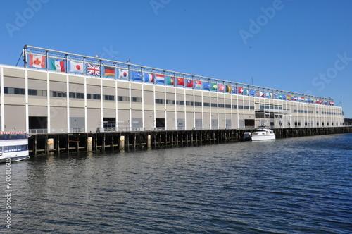 Fotografia, Obraz  Seaport World Trade Center in Boston
