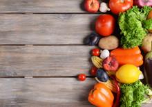 Fresh Organic Fruits And Veget...