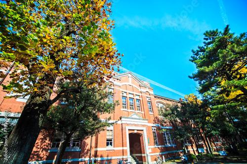 Kyoto University at fall