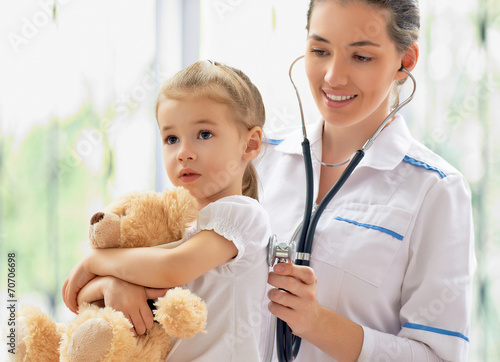 Photo  pediatrician