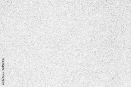 Poster Concrete Wallpaper White concrete wall with plaster. Background photo texture