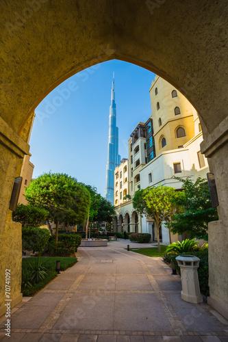 Fotografie, Obraz  Burj khalifa, the highest building in the world