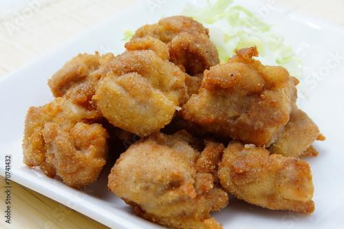Foto op Aluminium Kip 鶏の唐揚げ